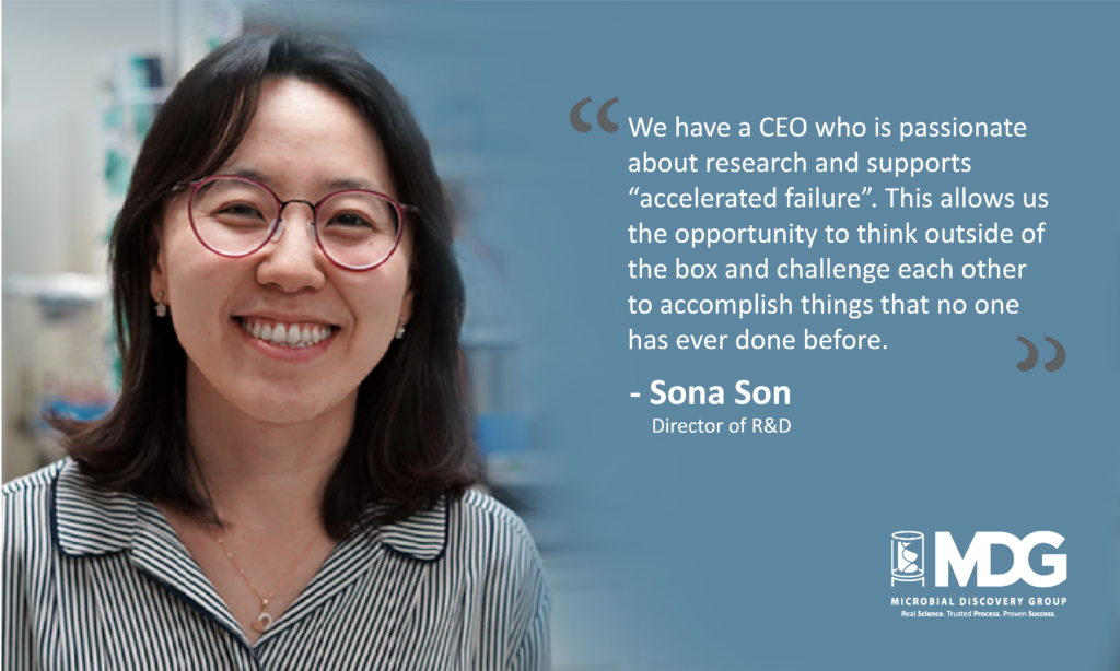 Director of R&D, Sona Son